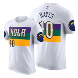 2019 Draft City T-Shirt of New Orleans Pelicans Jaxson Hayes