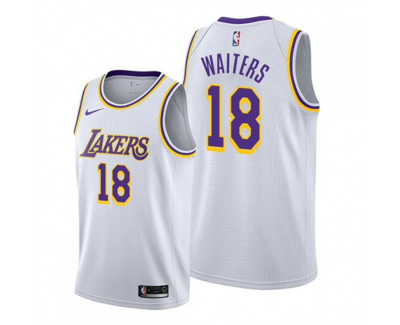 Dion Waiters Los Angeles Lakers #18 2020 Association White Jersey