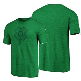2020 St. Patrick's Day Memphis Grizzlies Green Celtic Charm T-shirt