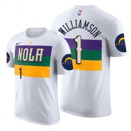 2019 Draft City T-Shirt of New Orleans Pelicans Zion Williamson