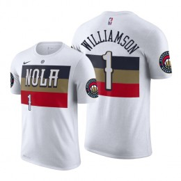 2019 Draft Earned T-Shirt of New Orleans Pelicans Zion Williamson