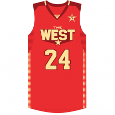 2011 NBA All-Star Kobe Bryant #24 Red Jersey