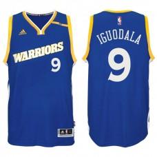 2016-17 Season Andre Iguodala Golden State Warriors #9 New Swingman Crossover Alternate Blue Jersey