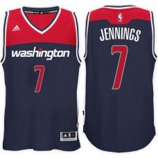 2016-17 Season Brandon Jennings Washington Wizards #7 New Swingman Alternate Navy Jersey