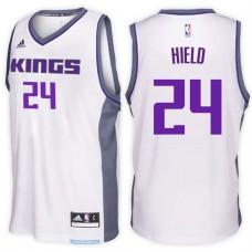 2016-17 Season Buddy Hield Sacramento Kings #24 New Swingman Home White Jersey