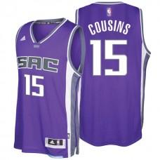 2016-17 Season DeMarcus Cousins Sacramento Kings #15 New Swingman City Road Purple Jersey