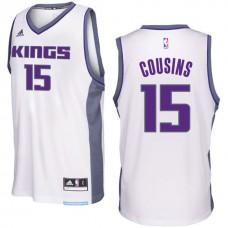 2016-17 Season DeMarcus Cousins Sacramento Kings #15 New Swingman Home White Jersey