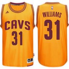 2016-17 Season Deron Williams Cleveland Cavaliers #31 New Swingman Alternate Gold Jersey