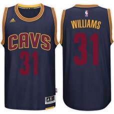 2016-17 Season Deron Williams Cleveland Cavaliers #31 New Swingman Alternate Navy Jersey
