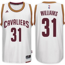 2016-17 Season Deron Williams Cleveland Cavaliers #31 New Swingman Home White Jersey