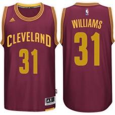2016-17 Season Deron Williams Cleveland Cavaliers #31 New Swingman Road Wine Jersey