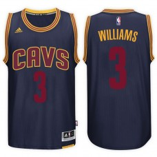 2016-17 Season Derrick Williams Cleveland Cavaliers #3 New Swingman Alternate Navy Jersey