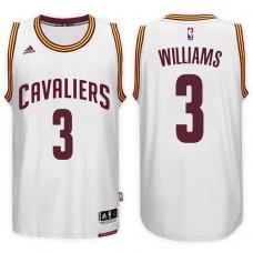2016-17 Season Derrick Williams Cleveland Cavaliers #3 New Swingman Home White Jersey