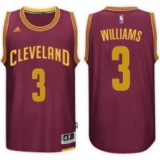 2016-17 Season Derrick Williams Cleveland Cavaliers #3 New Swingman Road Wine Jersey