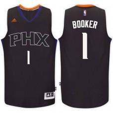 2016-17 Season Devin Booker Phoenix Suns #1 New Swingman Alternate Black Jersey