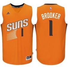 2016-17 Season Devin Booker Phoenix Suns #1 New Swingman Alternate Orange Jersey