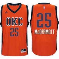 2016-17 Season Doug McDermott Oklahoma City Thunder #25 New Swingman Alternate Orange Jersey