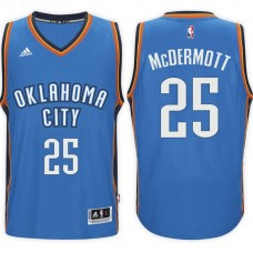 2016-17 Season Doug McDermott Oklahoma City Thunder #25 New Swingman Road Blue Jersey