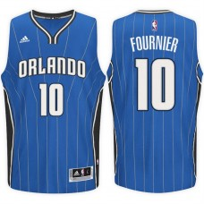 2016-17 Season Evan Fournier Orlando Magic #10 New Swingman Road Blue Jersey