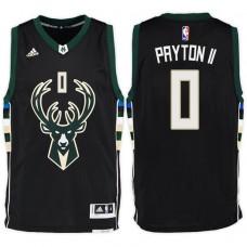 2016-17 Season Gary Payton II Milwaukee Bucks #0 New Swingman Alternate Black Jersey