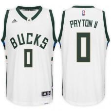 2016-17 Season Gary Payton II Milwaukee Bucks #0 New Swingman Home White Jersey