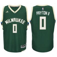 2016-17 Season Gary Payton II Milwaukee Bucks #0 New Swingman White Green Jersey