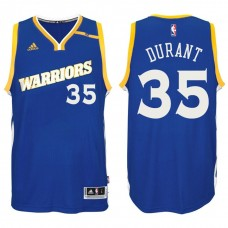2016-17 Season Kevin Durant Golden State Warriors #35 New Swingman Crossover Alternate Blue Jersey