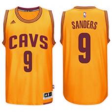 2016-17 Season Larry Sanders Cleveland Cavaliers #9 New Swingman Alternate Gold Jersey
