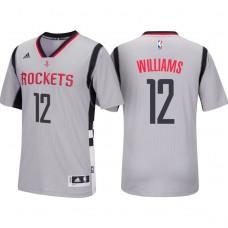 2016-17 Season Lou Williams Houston Rockets #12 New Swingman Alternate Black Jersey