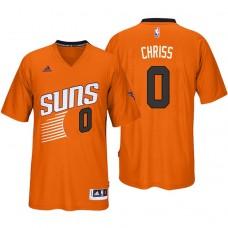2016-17 Season Marquese Chriss Phoenix Suns #0 New Swingman Orange Pride Sleeved Jersey