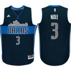 2016-17 Season Nerlens Noel Dallas Mavericks #3 New Swingman Alternate Navy Jersey