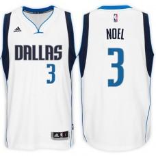2016-17 Season Nerlens Noel Dallas Mavericks #3 New Swingman Home White Jersey