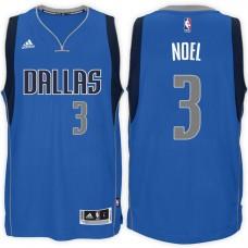 2016-17 Season Nerlens Noel Dallas Mavericks #3 New Swingman Road Blue Jersey