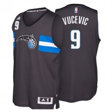 2016-17 Season Nikola Vucevic Orlando Magic #00 Alternate New Swingman Black Jersey