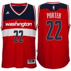 2016-17 Season Otto Porter Washington Wizards #22 New Swingman Road Red Jersey
