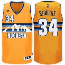 2016-17 Season Roy Hibbert Denver Nuggets #34 New Swingman Alternate Navy Jersey