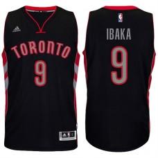 2016-17 Season Serge Ibaka Toronto Raptors #9 New Swingman Alternate Black Jersey