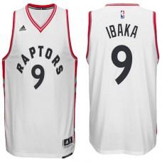 2016-17 Season Serge Ibaka Toronto Raptors #9 New Swingman Home White Jersey