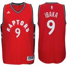 2016-17 Season Serge Ibaka Toronto Raptors #9 New Swingman Road Red Jersey