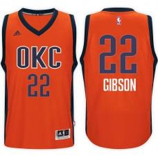 2016-17 Season Taj Gibson Oklahoma City Thunder #22 New Swingman Alternate Orange Jersey