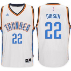 2016-17 Season Taj Gibson Oklahoma City Thunder #22 New Swingman Home White Jersey