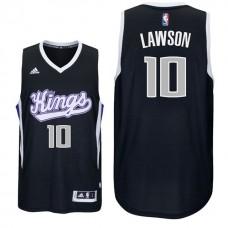 2016-17 Season Ty Lawson Sacramento Kings #10 New Swingman Alternate Black Jersey