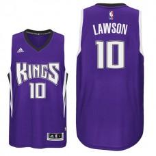 2016-17 Season Ty Lawson Sacramento Kings #10 New Swingman Road Purple Jersey