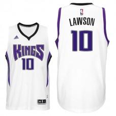 2016-17 Season Ty Lawson Sacramento Kings #10 New Swingman Home White Jersey