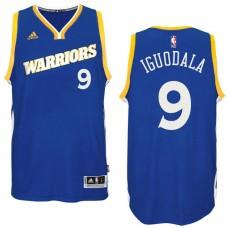 2016-17 Season Golden State Warriors #9 Run TMC Royal Crossover Alternate Swingman Jersey-Andre Iguodala