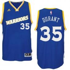 2016-17 Season Golden State Warriors #35 Run TMC Royal Crossover Alternate Swingman Jersey-Kevin Durant