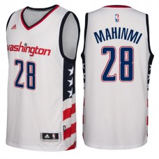 2016-17 Season Washington Wizards #28 Star & Stripes White Alternate New Swingman Jersey-Ian Mahinmi