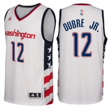 2016-17 Season Washington Wizards Kelly Oubre #12 Star & Stripes White Alternate New Swingman Jersey