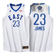 2016 NBA Toronto All-Star Eastern Conference #23 Lebron James White Jersey