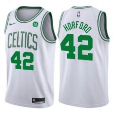 2017-18 Season Al Horford Boston Celtics #42 Association GE White Jersey
